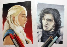 Game of Thrones WIP by Quelchii