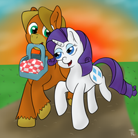 Trotter x Rarity (Prize) by TheXIIILightning