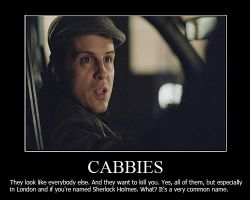 Cabbies Demotivational Poster by shallowgravy