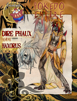 Phaux the Haxorus by LuxuryCat