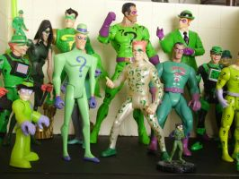 Riddler action figures by AustrianMax