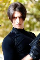 Leon S.Kennedy portrait by SleepingLeonhart