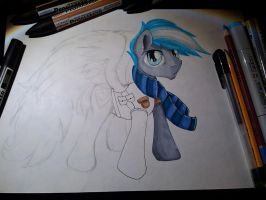 Commission WIP  for Cloudzapper8 by SparklySpectrum