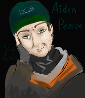 Aiden Pearce ~ for BarricadeXBumblebee by NonieBee
