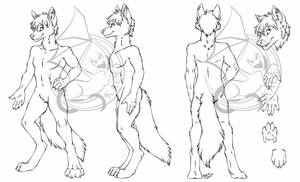 Conner - Ref Sheet - Inks by kcravenyote