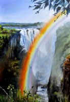 The Devil's Cataract  Vic Falls by veracauwenberghs