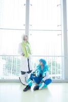 Clear and Aoba by hardhk28