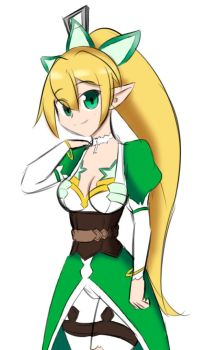 Leafa Disguise (Coloured) by SkinSuitLover123