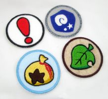 Animal Crossing Item Patches by TheHarley