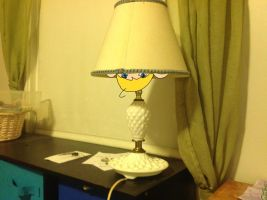 John in a lamp by The-Insane-Puppeteer