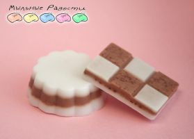 Soap: Chocolate and Milk by Mergata