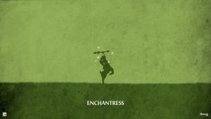 Dota 2 - Enchantress Wallpaper by sheron1030