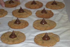 Peanut Butter Blossoms 2 by ixe-chocolate