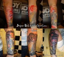 Koi Fish addition by GetSomeInk