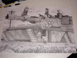 Contest - The Marauder Tank Crew by Hank88