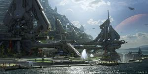 Forerunner Acropolis by ThelVoramee