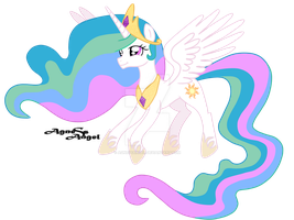 Princess Celestia by AgnessAngel
