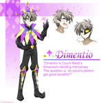The Charming Magician Dimentio! by DJ-Mika