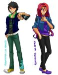Cardfight!! Vanguard Friends - Will and Maria by chris170389