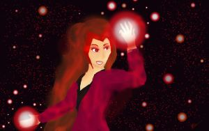 The Scarlet Witch by FangirlDayandNight