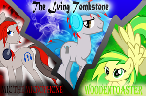 Three Awesome Bronies by Skittles91k