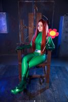 Totally Spies Sam Latex Cosplay by PolliGulina