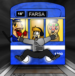 Pewdiepie and farsa by Enricthepenguin92