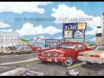 Bowness Road Ford Mustang Circa 1983 by FastLaneIllustration