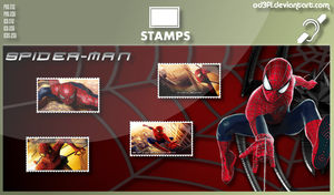 Stamps - 2002 - Spider-Man by od3f1