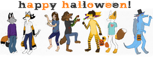 HAPPY HALLOWEEN by cat-mint