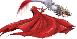 Little Red Riding Hood (W.I.P) by eclipsesong