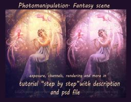 Photomanipulation. Fantasy scene by LiliaOsipova