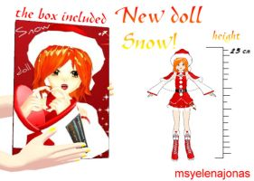 MMD DOWNLOAD: LITTLE SNOW DOLL: by MsYelenaJonas