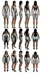 Mass Effect 3, Diana Allers Reference. by Troodon80