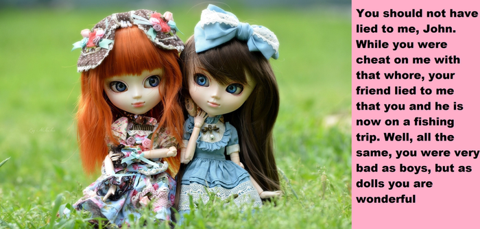 Two friends=two dolls by QuestMen