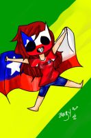 CHILE A BRAZIL 2014 by Angy-Ann