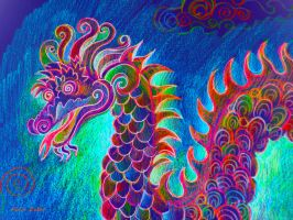 Chinese Dragon II by karincharlotte