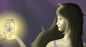 with a starry brush by resplendentgalaxies