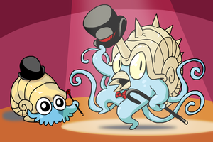 The Omanyte Family by Zerochan923600