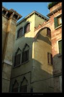 Looking up in Venezia by siquier