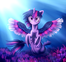 Thanks M. A. Larson! by Wolframclaws