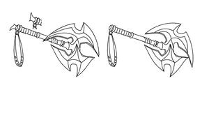 Axe Comparison (NEED OPINIONS) by BluSilvrPaladin