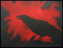 Raven by hannord