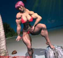 Logo Girl 3 On Da Beach 2 by SteeleBlazer84