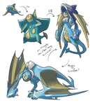 Water Starter Concepts by PapaLuLu27