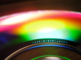 Diffraction on a DVD by Boulayo
