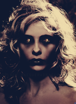 Special Edit: Sarah Michelle Gellar Demonic 1 by blackmasque99