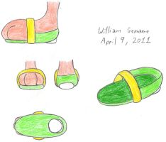 Cosmo's New Shoes Ref by germanname