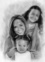 Mother and doughters by Julio Arce by JulioArce