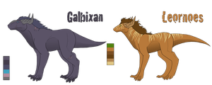Gal and Leo Combined Ref by Spazmatastic